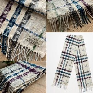 🌟Authentic Burberry Merino Wool Cashmere Scarf🌟